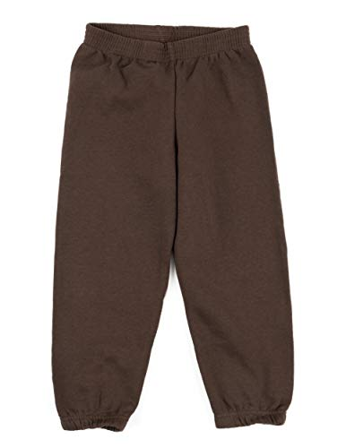 Leveret Kids Boys Sweatpants Brown Size 6 Years]()