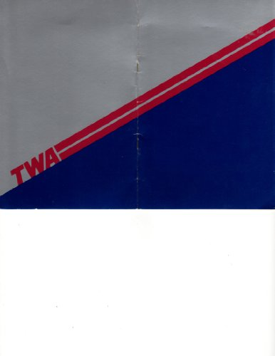 Trans World Airlines - TWA - In Flight Menu and Duty Free Shop