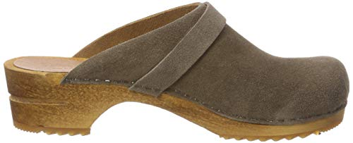 20 Beige Women's Wood Taupe Sanita Hedi Open Clogs 0SOnPqPw