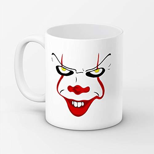 SAYOMEN - Scary Clown Face Mug - Pennywise