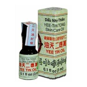 Yee Tin - Yee Tin Tong - Skin Care Oil - 0.1 Fluid Ounce - 3 ML