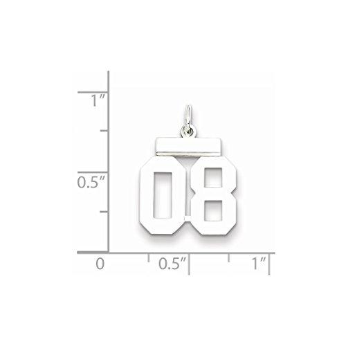 Number 08 Pendant Charm Jewelry Women Set