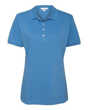 - Outer Banks - Ladies Pique Knit Sport Shirt, XL, Bimini Blue