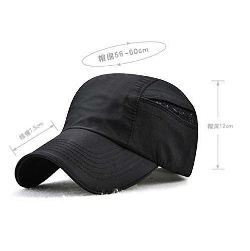de Gorra rápido de Sombrero Aire Sombreros Deportes de Secado al béisbol hat Hombres protección Libre qin para para Sombrero Sol D Solar para B GLLH XxAnHwRqE