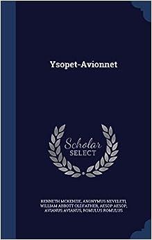 Book Ysopet-Avionnet