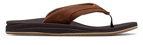 許可カナダバズ(ニューバランス) New Balance 靴?シューズ メンズサンダル PureAlign Recharge Thong Brown ブラウン US 8 (26cm)