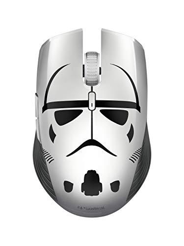 (Razer Atheris Ambidextrous Wireless Mouse - [Stormtrooper Limited Edition]: 7200 DPI Optical Sensor - 350 Hr Battery Life - USB Wireless Receiver & Bluetooth Connection)