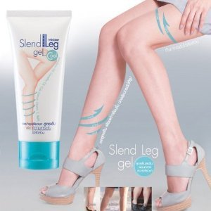 Best Cream Slend Leg Gel Firming & Slimming ,Reduce Cellulite Results in 2 Weeks / 50 G. X 3 Tubes (Quicktrim Burn And Cleanse 14 Day System)