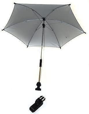 Find Great Deal On Baby Parasol Compatible with Graco Stroller Buggy Pram Grey