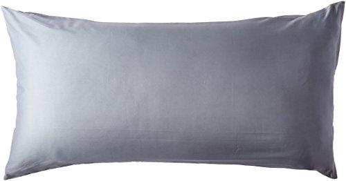 Utopia Bedding Cotton Sateen Zippered Pillow Case 300 Thread Count