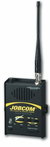 - Ritron JBS-446D Base-Station Wireless Intercom, 2-Mile Range, 2W Power Output, 10 Channel, UHF 450-470 MHz Frequency, 110 VAC or 12 VDC Operation