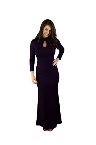 Charm Semi Prince Passion Your Sleeve Formal Dress Long Women's Purple rSrpxWAn