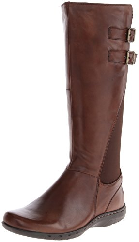 Rockport Cobb Hill Womens Peyton-ch Riding Boot Brown
