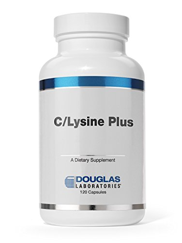 (Douglas Laboratories® - C/Lysine Plus - Vitamin C and L-Lysine to Support Connective Tissues and Collagen* - 120 Capsules)