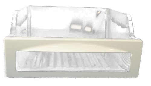 LG Electronics 3391JJ2012C Refrigerator Vegetable Crisper Drawer, Clear with White Trim