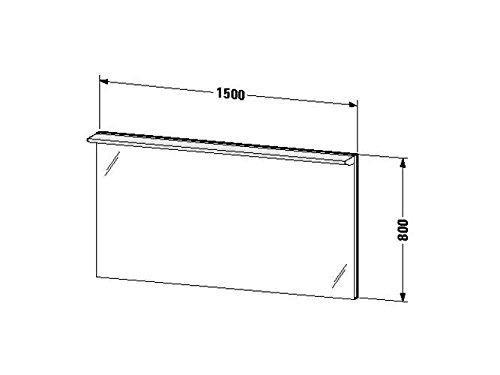 Duravit Spiegel mit Beleuchtung Darling New 170x1500x800mm, DN726500000