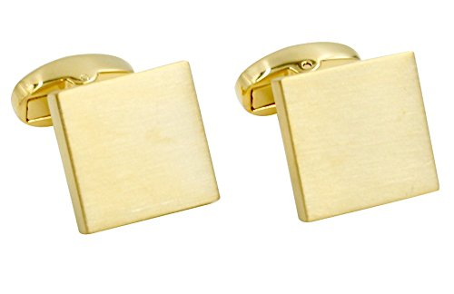 Gold Cufflinks | Premium Cuff Links | Cufflinks Box Included | Gift for Men (Solid Gold Cufflinks)