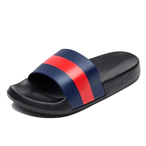 d33470bc5 Fendou Slide Sandals for Women Anti-Slip Shower Shoes Soft Indoor Home  House Sandal Bath