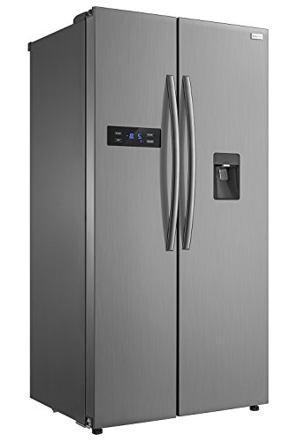 Russell Hobbs American Style Fridge freezer, 90cm wide, Side by Side, A+...