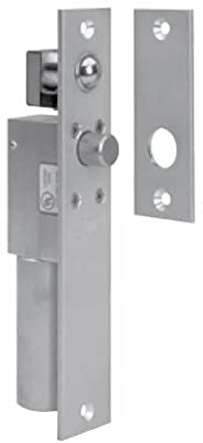"SDC 1091AIV SpaceSaver Aluminum Finish Electric Bolt Lock, Narrow Mortise, 12/24 VDC, Failsafe for 1-3/4"" Frame (Pack of 1)"