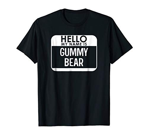 Gummy Bear Costume Shirt Funny Easy Halloween Outfit]()