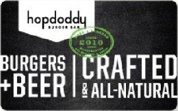 Hopdoddy Burger Bar Gift Card - Az In Scottsdale Stores