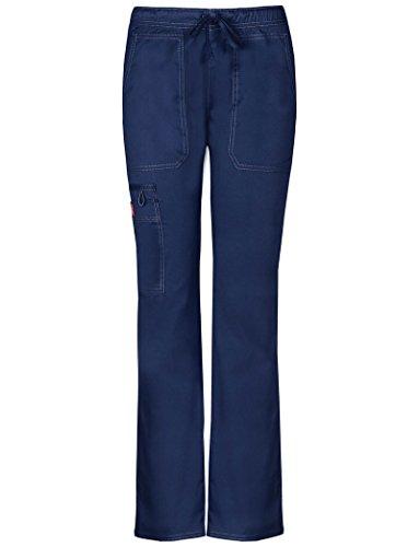Drawstring Straight Leg Pant - Dickies Gen Flex DK100 Women's Low Rise Straight Leg Scrub Pant