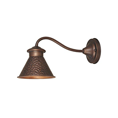 Antique Copper Outdoor Wall Light - 9