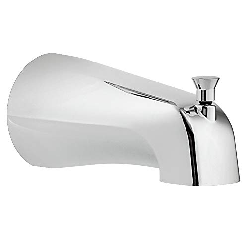 Moen 3801 Collection Tub Spout with Diverter, 1/2-Inch Slip-fit CC Connection, 0.5, Chrome ()