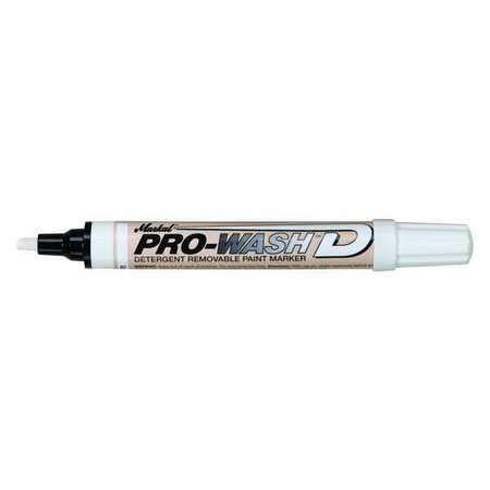 12-Pk Markal 97010 White Pro-Wash D Liquid Paint Markers