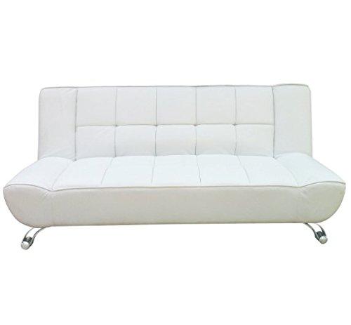 Home Clic Clac sofá Cama Moderno 3 plazas - Piel SINTÉTICA ...