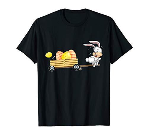 Egg Hunter Shirt Bunny Easter Gifts for Kids Men Women]()