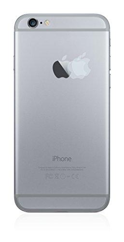 2x BROTECT HD-Clear Pellicola Protettiva Apple iPhone 6 Plus Logo sulla parte posteriore Schermo Protezione – Trasparente, Anti-Impronte