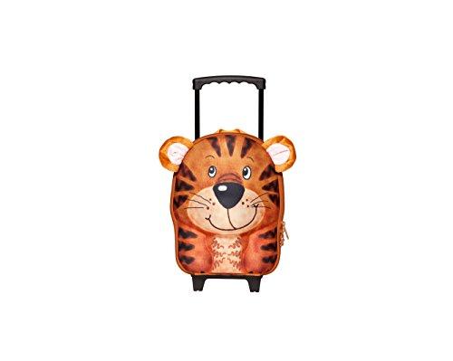 Suitcase Pull (Okiedog Wildpack Trolley Kids Rolling Bag Tiger)