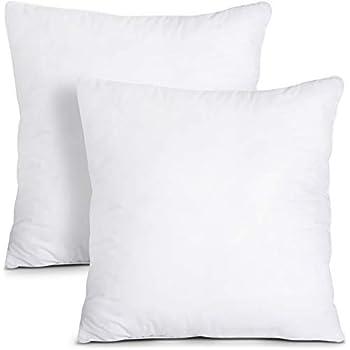 Amazon Com Dreamhome Square Poly Pillow Insert 18 Quot L X