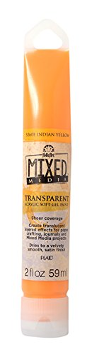 folkart-mixed-media-transparent-acrylic-soft-gel-paint-in-assorted-colors-2-ounce-5260e-yellow