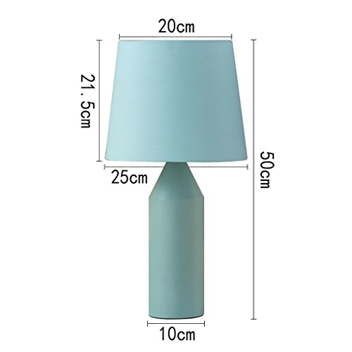 - YXW table lamp table lamp,bedside lamps,desk lamp,bedroom lamps,bedroom lamps,nightstand lamps,table lamps for living room,led night light,E27 (Color : A, Size : Button switch)
