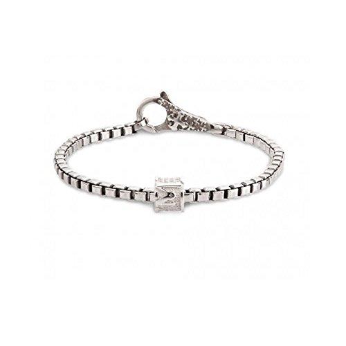 TUUM Bracelet Incipit Mater en argent rhodié Taille M incbm90e9e0m