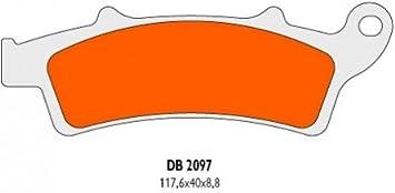Vorne Plaquettes de frein Delta Braking Sinter DB2097RDN APRILIA 500 Atlantic Sprint Baujahr 05-08