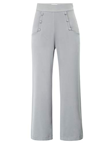 Belle Poque Women's High Waist Wide Leg Pants with for sale  Delivered anywhere in USA