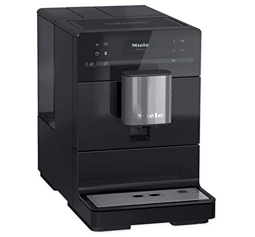 Miele CM5300 10-Cup Super-Automatic One-Touch Countertop Coffee/Espresso Machine (Black)