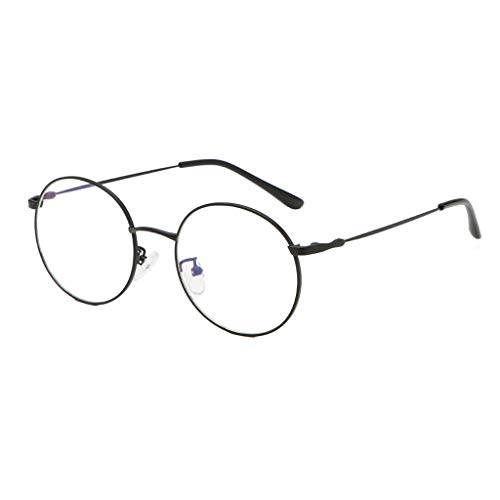 iNoDoZ Womens Large Oversized Retro Vintage Glasses For Women with Round Transparent Lens