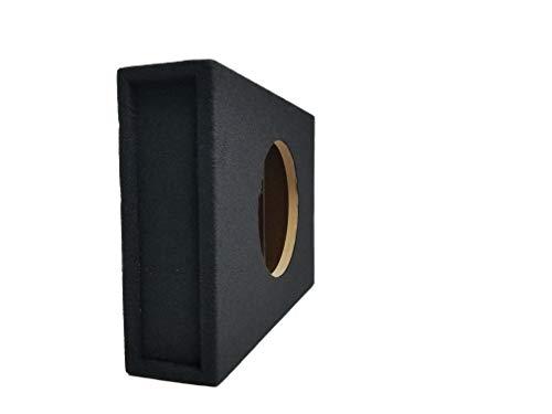 Bass Rockers Single 12″ Shallow Subwoofer Box Low Sealed Slim Enclosure BR12SME