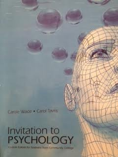 Invitation to Psychology (Custom Edition for Nashville State Community College)
