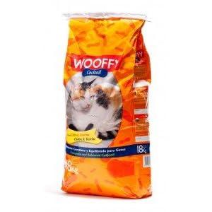 WOOFFY Pienso para Gato NG Cocktail 18 kg. Pienso Completo y equilibrado para Gatos
