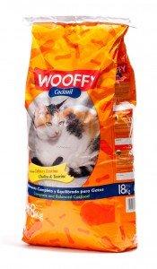 Wooffy Pienso para Gato NG Cocktail 18 kg. Pienso Completo y equilibrado para Gatos.