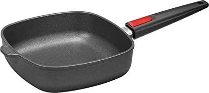 Woll Nowo Titanium Square Fry Pan with Detachable Handle, 9.5-Inch