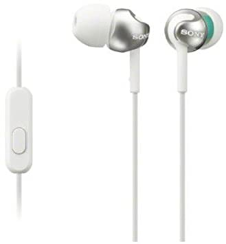 Sony MDREX110AP/B In-Ear Headphones With Microphone (Black) Sony Electronics Inc. Accessory Home Audio & Theater