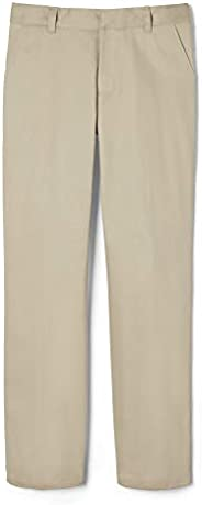 French Toast Boys Adjustable Waist Work Wear Finish Relaxed Fit Pant (Standard & Hu