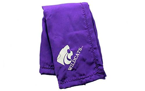 KSUBB - Kansas State Wildcats Baby - Blanket - Officially Licensed - Happy Feet & Comfy Feet College Bedding Kansas State Wildcats